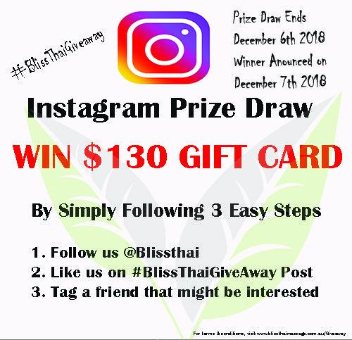 Instagram Prize Draw